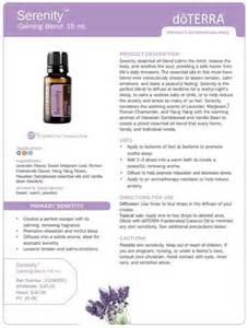 1000 ideas about doterra serenity on pinterest doterra essential