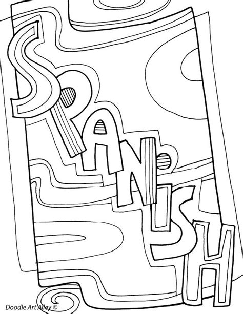 coloring pages for school subjects subject coloring pages classroom doodles classroom
