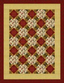 Easy Quilt Designs by Easy Quilt Pattern Snowballing Economy