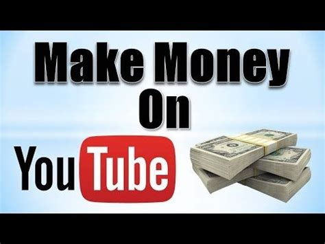 Making Money Online Youtube - how to make money online through youtube step by step techmenia