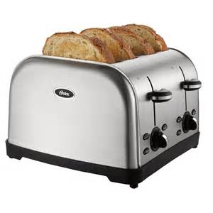 Oster Bread Toaster Oster Tssttrwf4s Np 4 Slice Stainless Steel Toaster