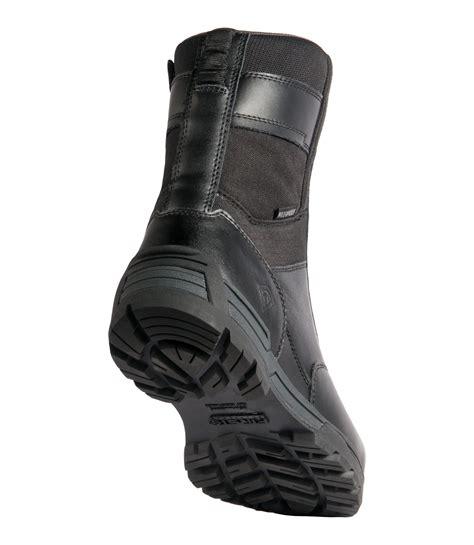 men s 8 waterproof side zip duty boot tactical