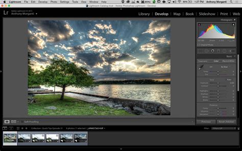 hdr tutorial lightroom 6 learn lightroom 6 cc episode 17 hdr from a single image
