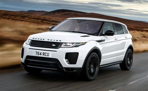 land rover 2018 models 2018 range rover evoque discovery sport models get new