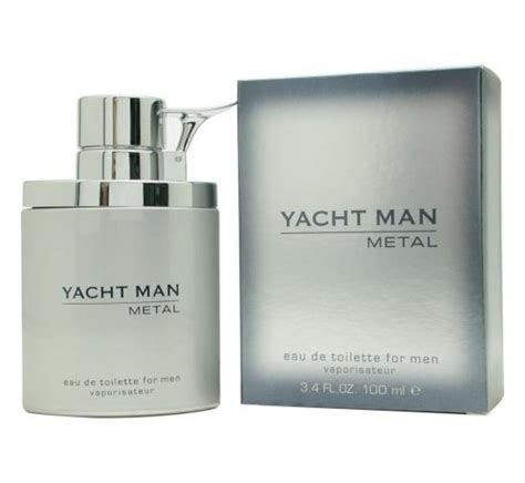 Parfum Yacht yacht metal myrurgia cologne a fragrance for 2005