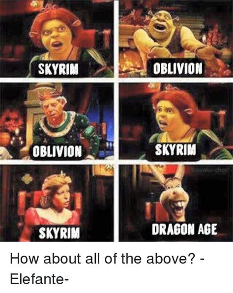 Dragon Age Memes - 25 best memes about oblivion oblivion memes