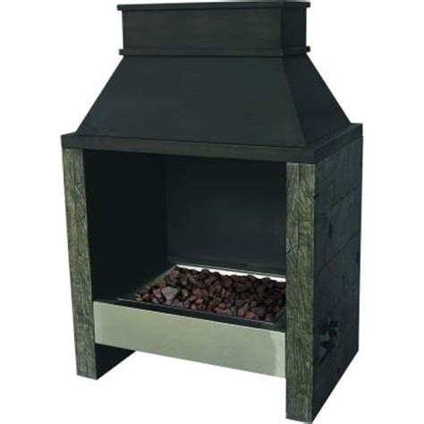 Bond Outdoor Gas Fireplace by Bond Manufacturing 49 In Ocala Outdoor Steel Gas
