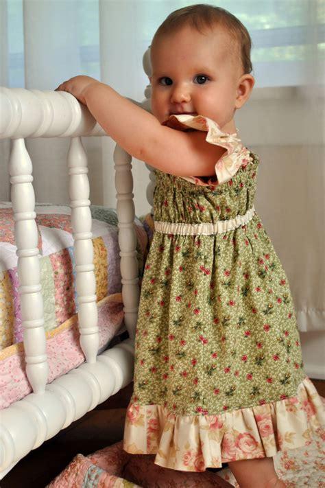 big sister ruffle dress baby toddler girls beginner easy