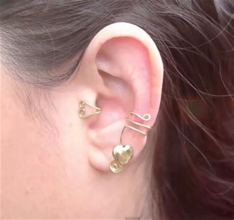 diy ear cuff diy ear cuffs ideas diy craft projects