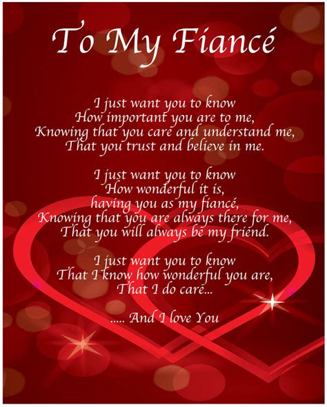 valentines day poems for my fiance to my fiance poem birthday valentines day gift