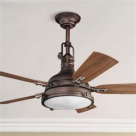 kichler hatteras bay fan 44 quot kichler hatteras bay weathered copper finish ceiling
