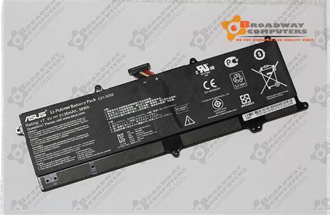 Baterai Asus X201 X201e S200e C21 X202 new original battery for asus vivobook q200e s200e x202 x202e x201e c21 x202 ebay