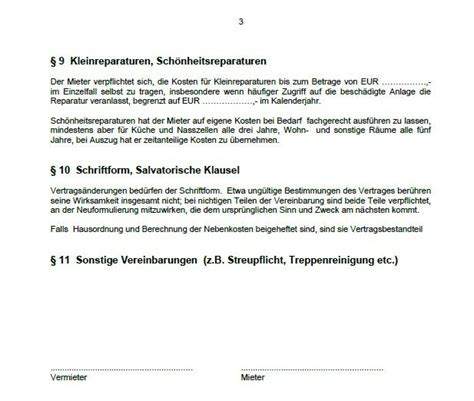 mietvertrag muster word kostenlos 6781 word vorlage mietvertrag wohnung shareware de