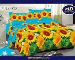 Bed Cover Kintakun Luxury Krisantemum 180x200 grosir sprei kintakun luxury supplier reseller