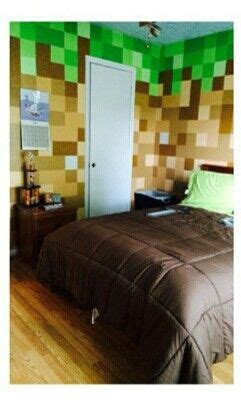 minecraft boys bedroom ideas minecraft bedroom minecraft pinterest
