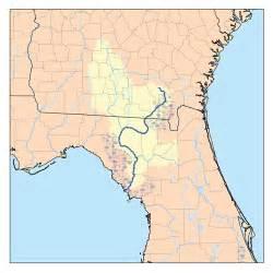 okefenokee sw on map