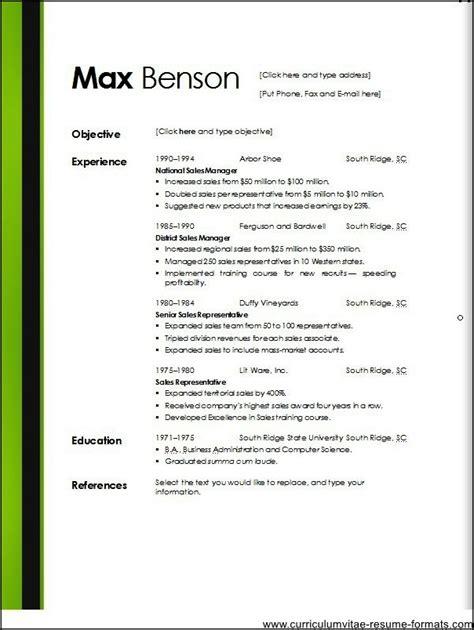 microsoft resume templates 2013 – 50+ Best templates