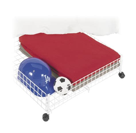 bed storage with wheels foregather net