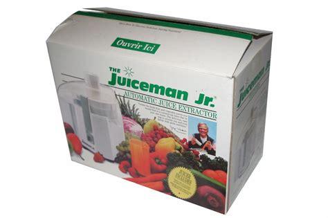 Juicer Jr the juiceman jr automatic power juice extractor machine