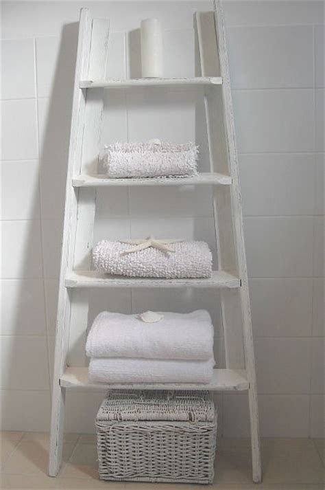 Bathroom Towel Ladder Inspiring Alternative Uses For Ladders Terrys Fabrics S