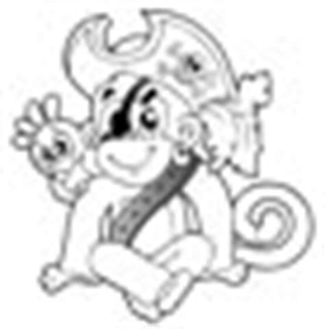 monkey pirate coloring pages adventure coloring printables