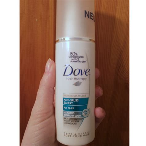 Sho Dove Hair Therapy test leave in produkt dove hair therapy reparatur pflege anti spliss expert kur fluid