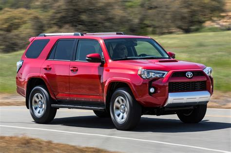 toyota forerunner 2015 toyota 4runner reviews and rating motor trend
