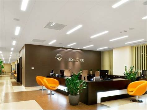 Gobain Ceiling by Led Built In L For False Ceiling Ecophon Line Led By