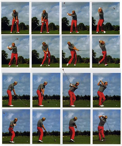 jack nicklaus iron swing jack nicklaus swing sequence my style pinterest jack