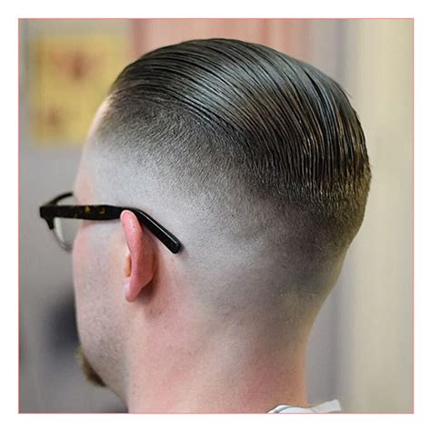 slick bsck hairstyle crown balding emo haircut for men with high fade slickback patrick