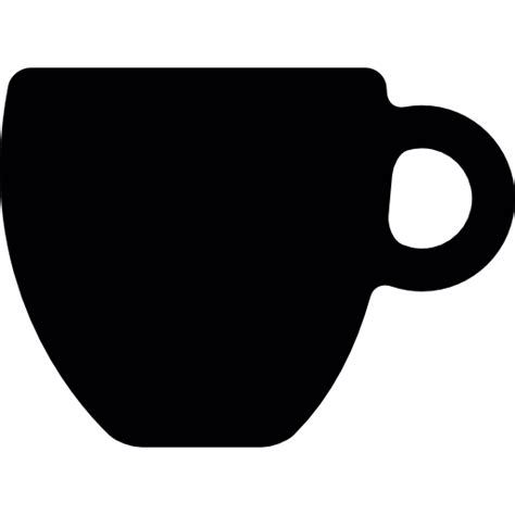 coffee cup silhouette png black coffee cup free other icons
