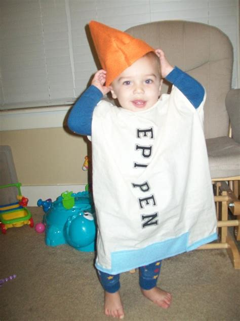 Fabulous News The Costume National Community Is Taking by Spreading Food Allergy Awareness In His Epi Pen Costume