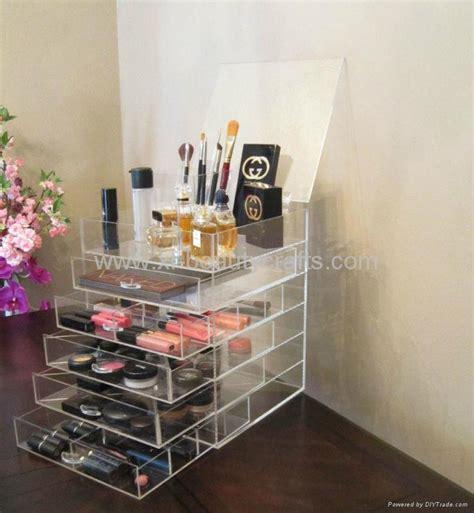 Produk Unik Storage Organizer 2 In 1 Organizer Bisa clear cosmetic organizer plastic acrylic cosmetic