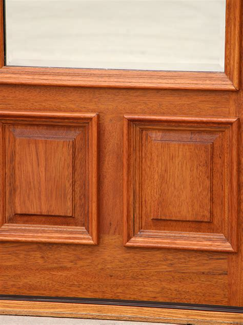 Exterior Doors Clearance Clear Beveled Glass Solid Mahogany Doors