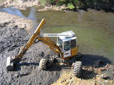 Ac Excavator 95 menzi muck kaiser walking excavator low hours a c