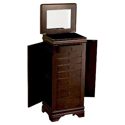 powell louis philippe jewelry armoire louis philippe jewelry armoire cherry powell company