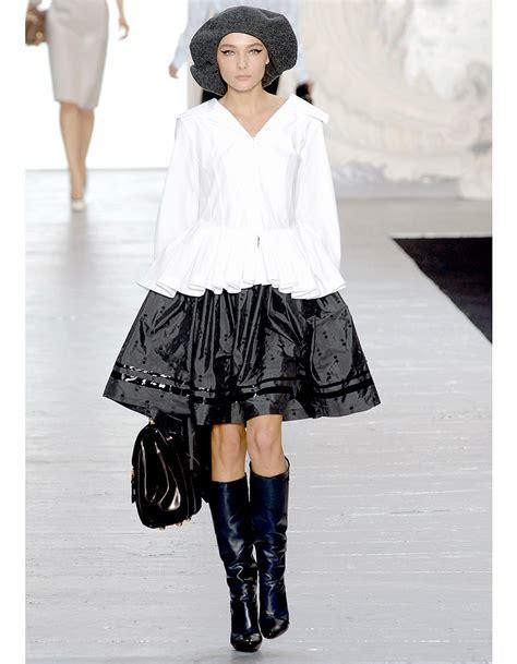 Literature Noir Fall 2007 At La Fashion Week by La Silhouette Noir Blanc Les Plus Beaux Looks De Marc