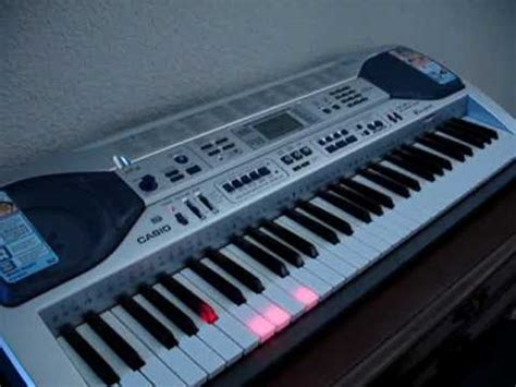 casio keyboard light up casio keyboard lk 90 plays itself and the light up