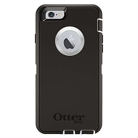 otterbox defender series for iphone 6 6s in black bed bath beyond