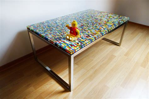 Never too many colors aka another lego table ikea hackers ikea hackers