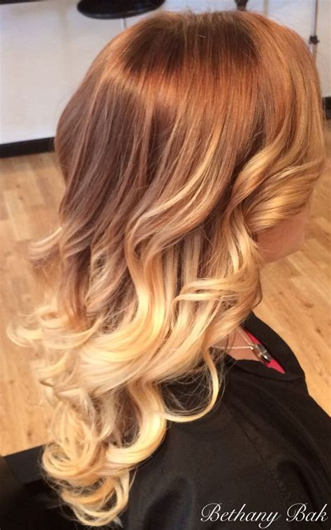 how to mix golden strawberry blond at home hair kits ombr 233 on blonde hair ombr 233 styles balayage