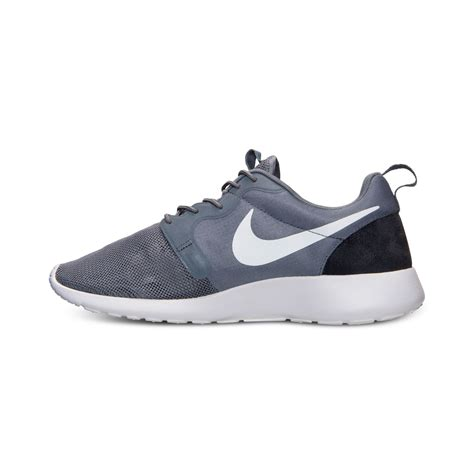 nike sneakers mens nike mens roshe run hype casual sneakers from finish line