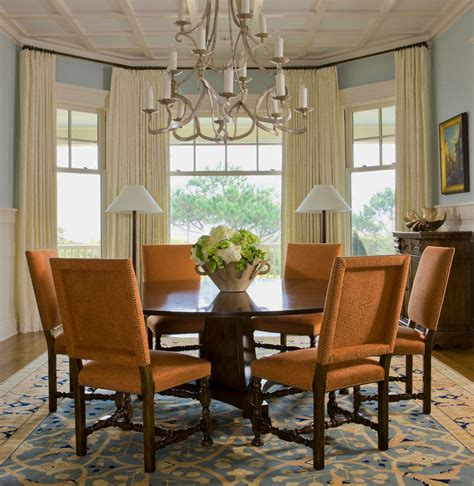 dining room bay window amazing dining room curtain ideas com trends and drapery