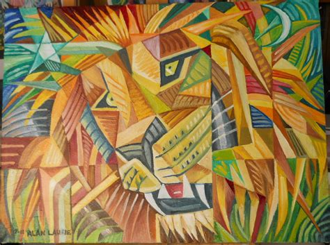 how to paint cubism brush paint and go