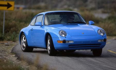 1995 porsche 911 carrera archived road test review car and driver