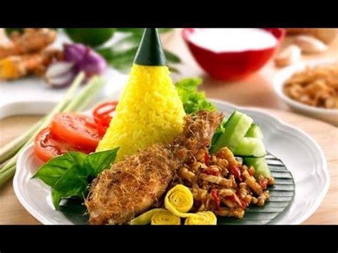 youtube membuat nasi tumpeng resep cara membuat nasi kuning tumpeng mini youtube