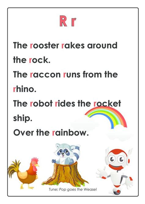 abc songs letter r activities learning and abc songs