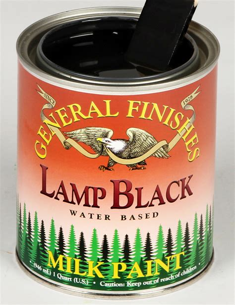 how black is general finishes corporation s l black