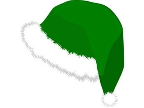how to make a green christmas hat manycam effect santa claus green hat