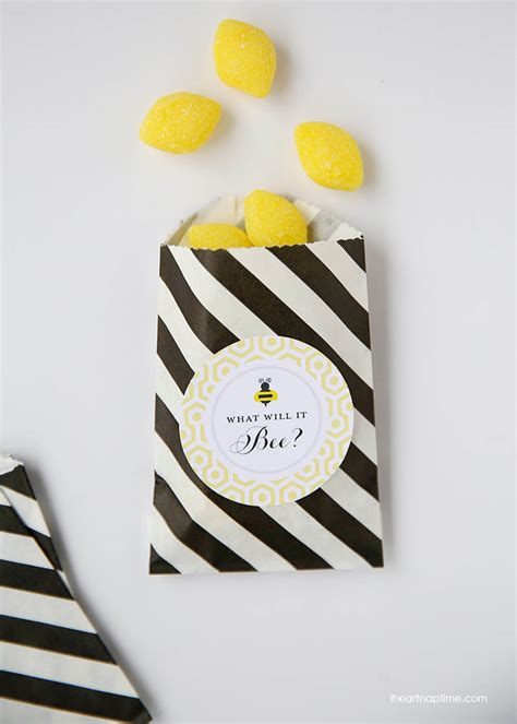 Bumble Bee Baby Shower Favors by Bumble Bee Baby Shower W Free Printables I Nap Time